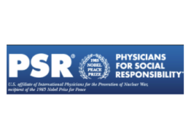 Logo for Physicians for Social Responsibility